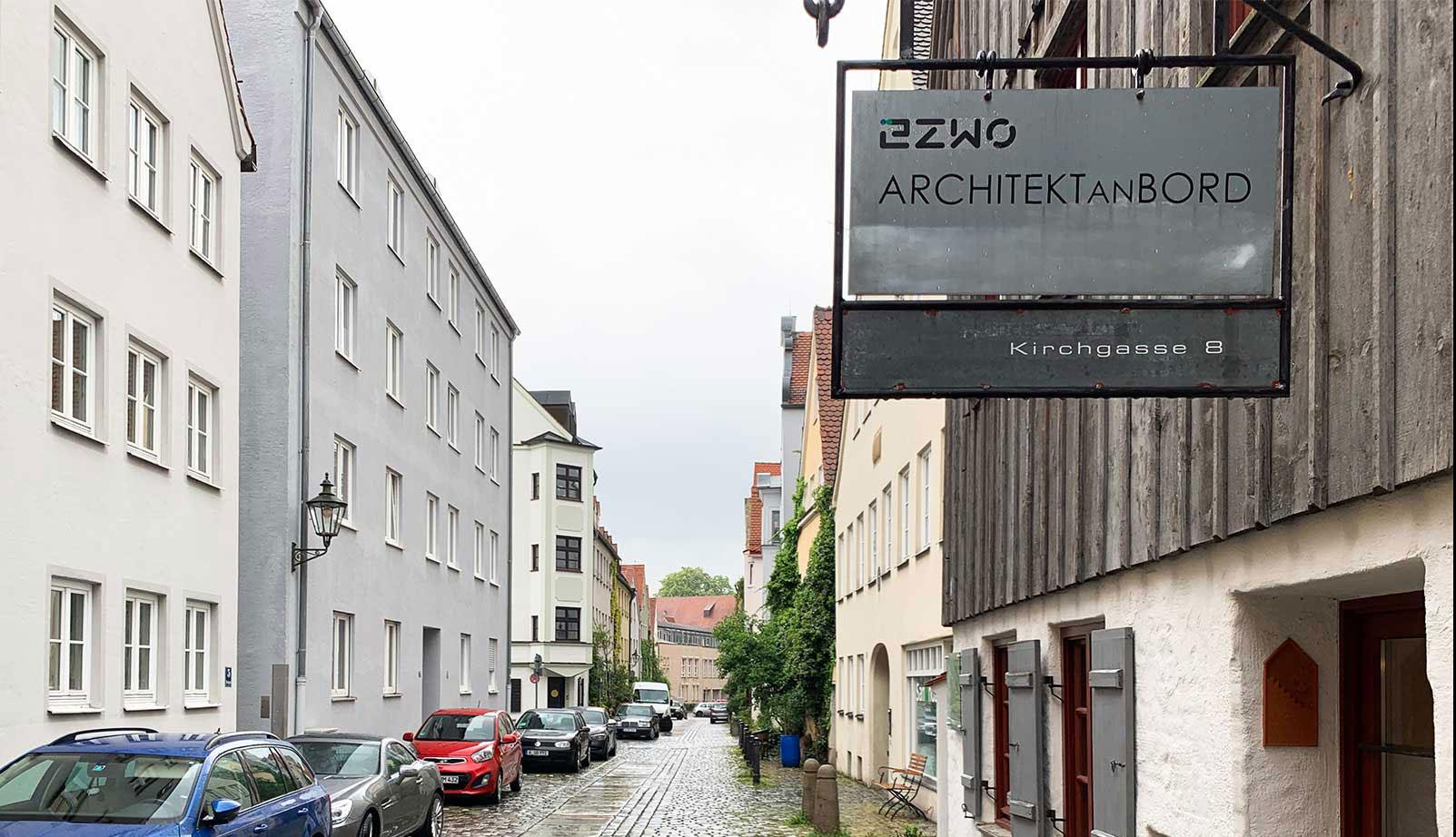Büro E2WO Ausgburg - Außenansicht
